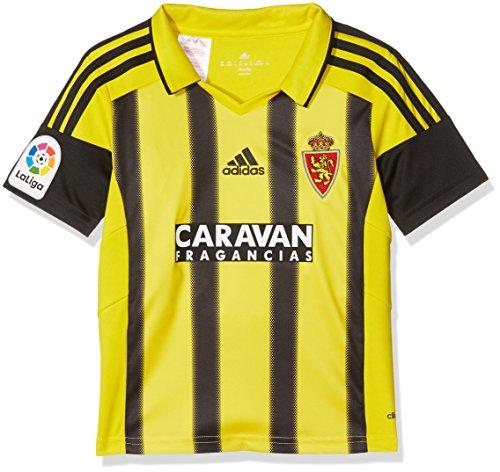 adidas Fort14 Jsy Y P Camiseta Real Zaragoza Fc, Niños, Amarillo (Ama