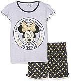 Disney House of Minnie, Pigiama Bambina, Blu (Blue 19-4024TC), 8 Anni