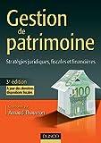 Gestion de patrimoine - 3e édition (Management Sup) (French Edition)