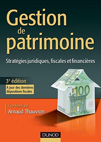 Gestion de patrimoine - 3e édition (Management Sup)