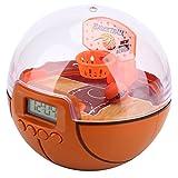 Alomejor Handheld Basketball Spielzeug mit LED Leuchtmittel & Schallanlage Mini Portable Basketball Schießen Ball Anti Stress Spiel für Kinder Erwachsene Geschenk