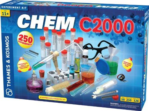 CHEM C2000 Chemiebaukasten / Chemielabor, für Fortgeschrittene