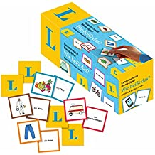 """Langenscheidt Memo-Spiel """"Wie heißt das?"""" - Memo-Spiel in Box mit 200 Karten und Spielanleitung: Spielerisch Deutsch lernen"""