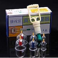 BG-YUFI YF Schröpfen Glas, 6 Dosen Haushaltspumpen Typ Verdickung Magnetfeldtherapie Vakuum Schröpfen Set - preisvergleich bei billige-tabletten.eu