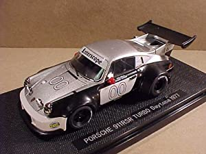 Ebbro 1/43 Scale Prefinished Fully-Detailed Diecast Model, Porsche 911 Carrera RSR Turbo, 1977 24 HR. Daytona Ongais & Field 44019 - Interscopio de Carreras
