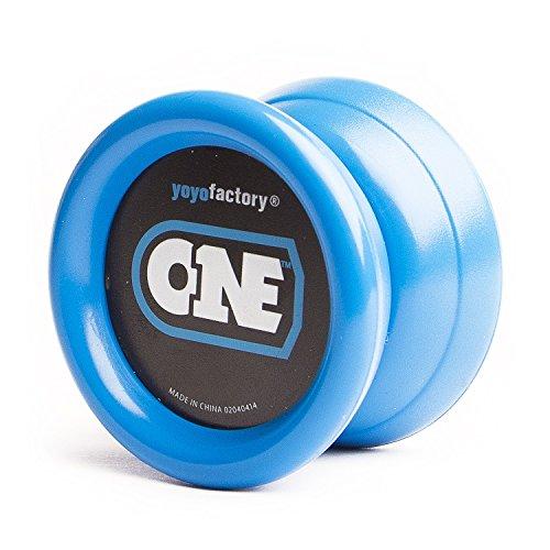 Yoyo - One von Yoyofactory (inkl. 2. Lager) Yo-Yo für Beginner + Fortgeschrittene / Farbe Blau