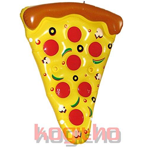GATO Toys XXL Pizza Luftmatratze - 180 cm x 130 cm - Für den perfekten Sommerspaß!!! (1 Stück)