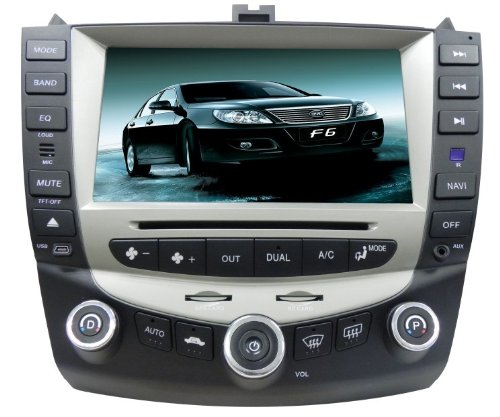 Dvd Accord Navigation Honda (ChiLin Honda Accord 07 Intelligent Navigationssystem mit High Touch Screen GPS DVD-Player eingebaute GPS, Bluetooth, TV, AM / FM mit RDS, iPod, Lenkradsteuerung, R¨¹ckfahrkamera-Eingang)