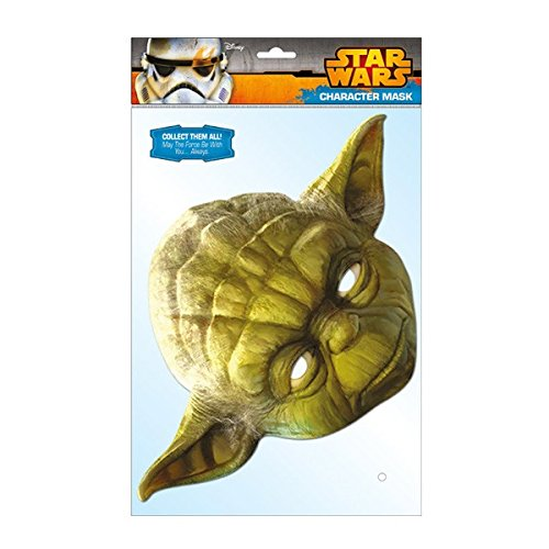Star Wars 599386031 - Máscara Yoda