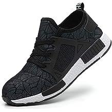4f4c00d4541 COOU Chaussures Securite Homme Femme Legere s3 Basket de Securite  Confortable Chaussure de Travail