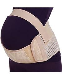 Ceinture de grossesse, soutien lombaire et abdominal, support pour femme enceinte - Marque NEOtech Care (TM ) - Couleur Beige ou Rose