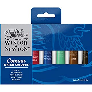 Winsor & Newton Cotman - Juego de tubos de pintura para acuarela (8 ml, 6 unidades) (B001S02DGA) | Amazon price tracker / tracking, Amazon price history charts, Amazon price watches, Amazon price drop alerts