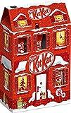 Kitkat - Weihnachtshaus Knusperwaffeln mit Milchschokolade Schokoriegel - 111g