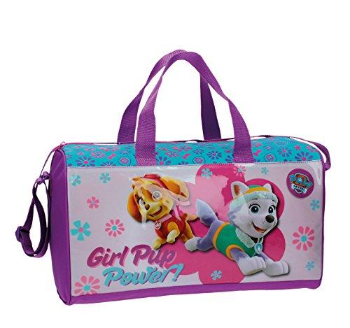 Takestop® borsone palestra cartoni animati dreamworks disney 42x25x20cm sacchetto borsa palestra scuola spiaggia sport zaino zainetto sacchetto (paw patrol)