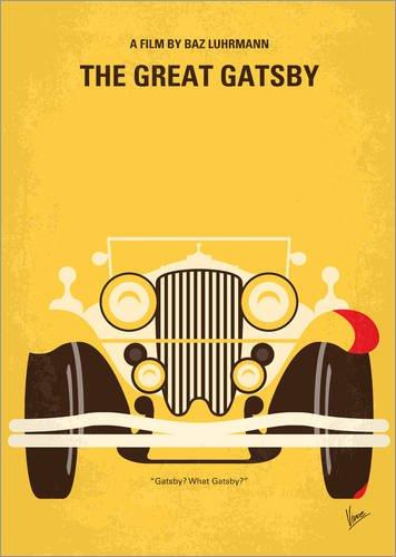Poster 30 x 40 cm: The Great Gatsby von chungkong - hochwertiger Kunstdruck, neues Kunstposter