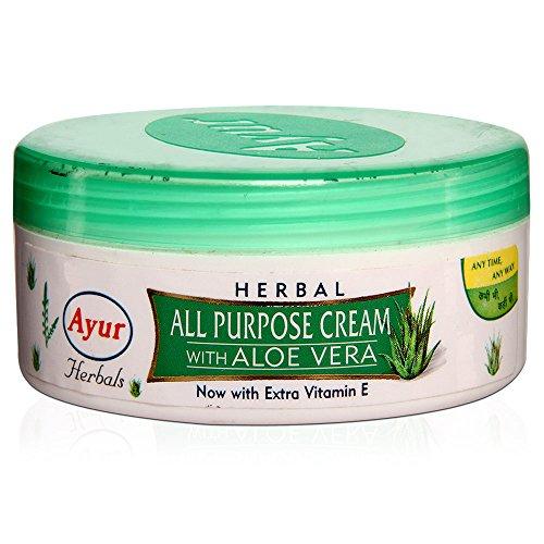 Ayur Aloe (Ayur All Purpose Cream With Aloe Vera 200ml by Ayur)