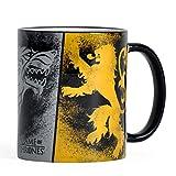 Game of Thrones Tasse Wappen Targaryen Stark Lannister Keramik