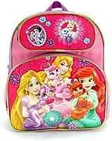 Small Backpack - Disney Princess Palace Pets School Bag New 641474