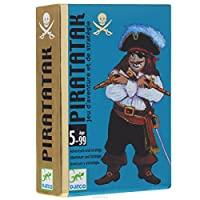 Djeco-DJ05113-Pirataka-Karten-Mehrfarbig-36-Bunt