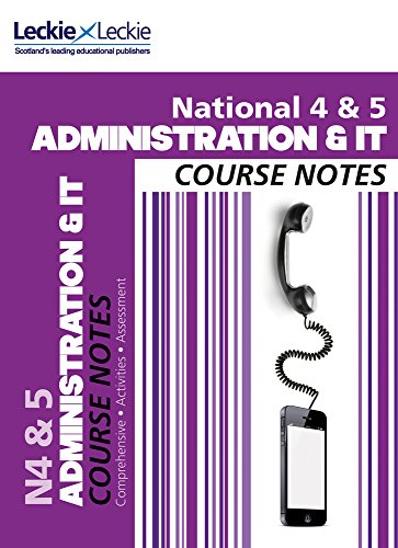 national-4-5-administration-and-it-course-notes-course-notes