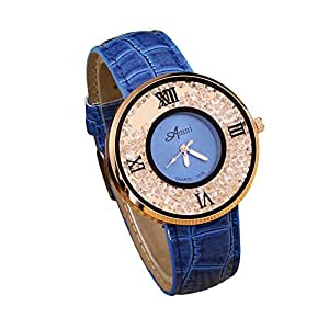 Clearance jyc women s watches leather band luxury quartz watches girls ladies wristwatch for Watches clearance