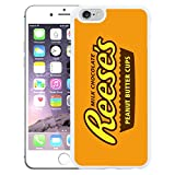 Schokolade Wrappers Schutzhülle für Apple iPhone 6, T775–Reese 's Peanut Butter–Weiß