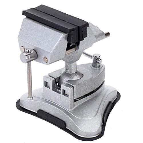 Schraubstock Vakuumsaugschalen Tabelle Vise 360   Grad universell einstellbar Aluminium-Legierung Tisch Bank Schraube Reparatur-Werkzeuge Pandiki