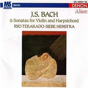 Bach: 6 Sonate für Violine und Cembalo Tera