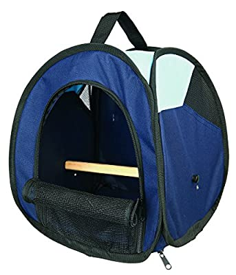 Trixie Transport Bag, Dark Blue/Light Blue by Trixie