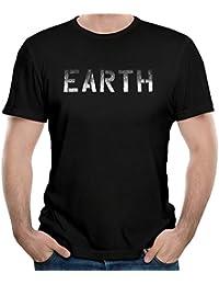 T&Tat Men's Neil Young EARTH Tour 2016 Wordmark Short Sleeve T-shirt