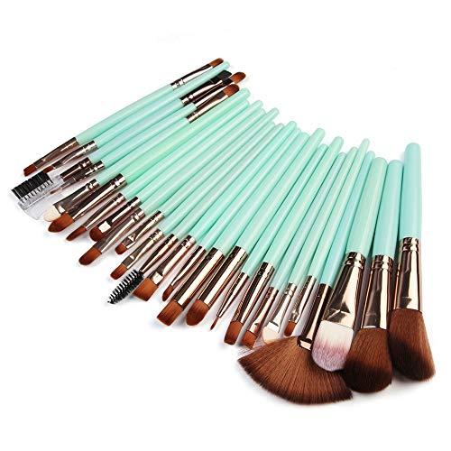 Dtuta 25 Komplett Passende Schminkpinsel-Werkzeuge, Mehrfarbig Aus Holz, Langlebig Und Leicht Zu Brechen, Weiche BüRste