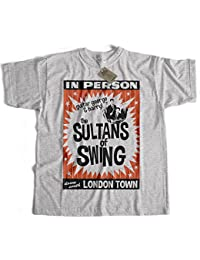 Old Skool Hooligans Tribute To Dire Straits T Shirt - Sultans Of Swing Poster