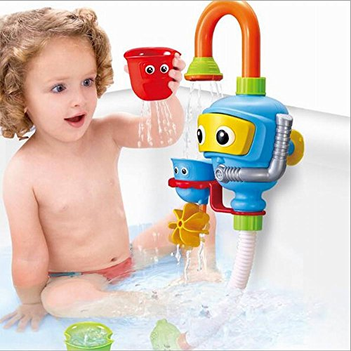 Baby Bath Shower Toys, Diver Spray Toys Spray Station Bathtub Toy – NO Batteries No Power Need