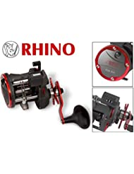 Rhino Trolling 430RH rollo Multi rollo, carrete para pesca al curricán, Multi para el Trolling