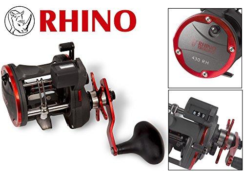 Rhino Trolling Sternradbremsrolle, Standart, One Size