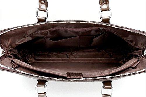 Männer Beutel Handtaschen-Computer-Beutel-Gezeiten-Schulter-Beutel-Kurier-Beutel Black