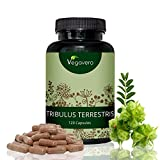 Testosterona y masa muscular: Tribulus Terrestris Vegavero | 120...