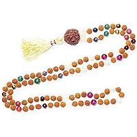 Mogul Interior Tassel Necklace Prayer Mala Meditation Chakra Holy Necklace