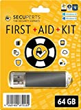 Picture Of SecuPerts First Aid Kit – First aid kit for Windows – Data Recovery and Virus Scanning – 64GB USB3.0 stick