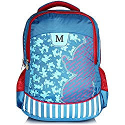 Disney School Bag For Girls 07+ Years Minnie 25 (L) Blue (Dm-0030)