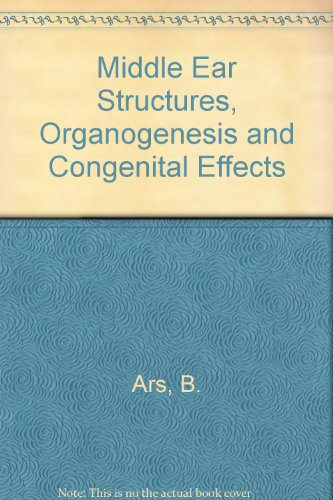 Middle Ear Structures, Organogenesis and Congenital Effects