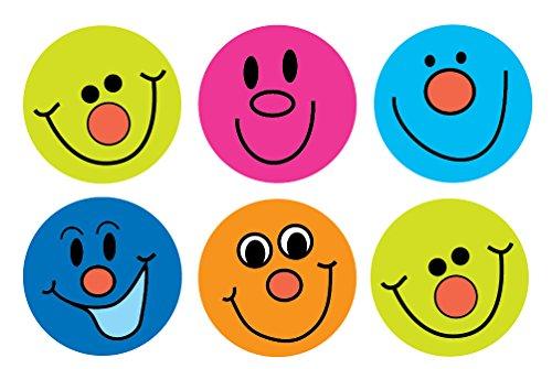 Sticker Solutions cara sonriente pegatinas (Pack de 180)
