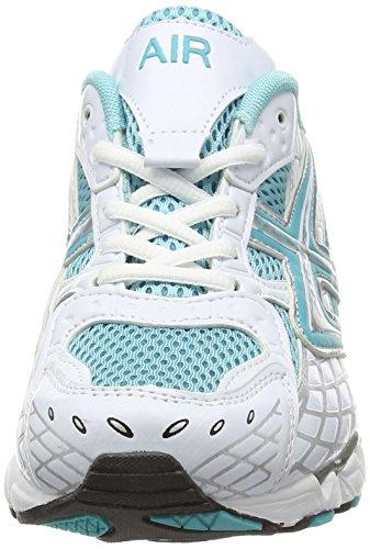 Dek , Baskets mode pour femme Blanc - White/Turquoise