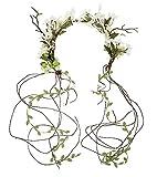 Olici MDRW-Accessoires De Cheveux/Mariage/Fête Une Coiffure À La Main Mori Immortel Rotin La Couronne Tête Fleur Les Photos des Accessoires pour Cheveux...