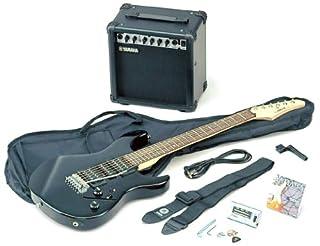 Yamaha ERG121 Gigmaker Electric Guitar & Amp Basic Pack - Black Gloss (B00BCIJB68) | Amazon price tracker / tracking, Amazon price history charts, Amazon price watches, Amazon price drop alerts