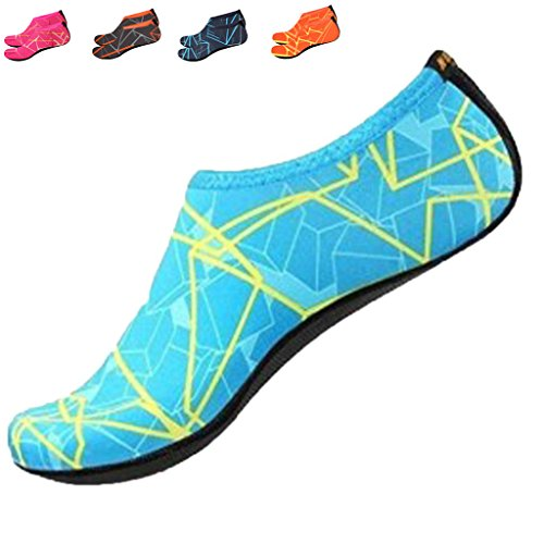 Wasser-Schuhe-Kingwo-Strand-Schuhe-Schnell-trocknend-Breathable-Schwimmen-Schuhe-Surfen-Schuhe-Haut-Schuhe-Tauchen-Aqua-Socken-fr-Frauen-Mnner-Kinder-fr-Strand-Pool-Surf-Yoga-bung