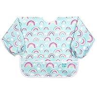 "Bumkins Fleece-Front Sleeved Bib/Baby Bib/Toddler Bib/Art Crafts Smock, Waterproof, Washable 5"" SU-19"