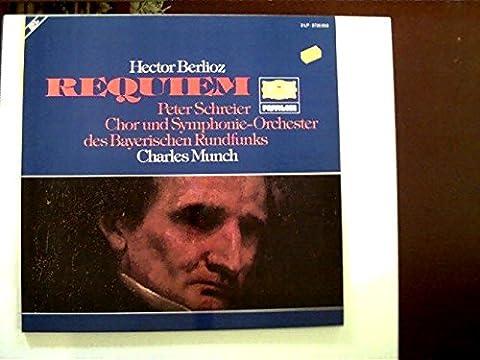 Requiem; Erscheinungsjahr 1968 Peter Schreier, Chor und Symphonie-Orchester des Bayerischen Rundfunks, Charles Munch;