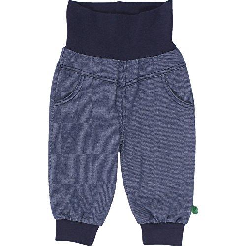 Fred'S World By Green Cotton Stretch Pants, Pantalon Mixte bébé, Bleu (Denim 019402601), 62 cm