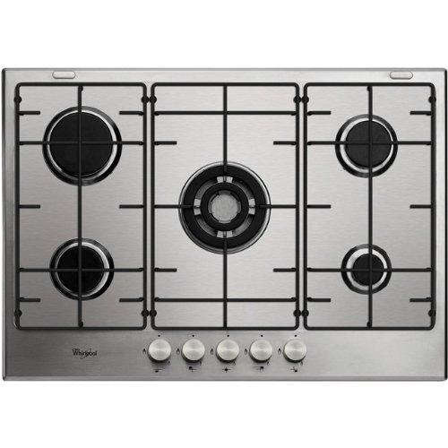 Whirlpool GMA 7520/ix Plaque – Plaque (intégrée, gaz, acier inoxydable, rotatif, partie supérieure avant, 0.85 m)